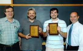 John Rohrer and Adam Vann  Pacesetter Award 2008